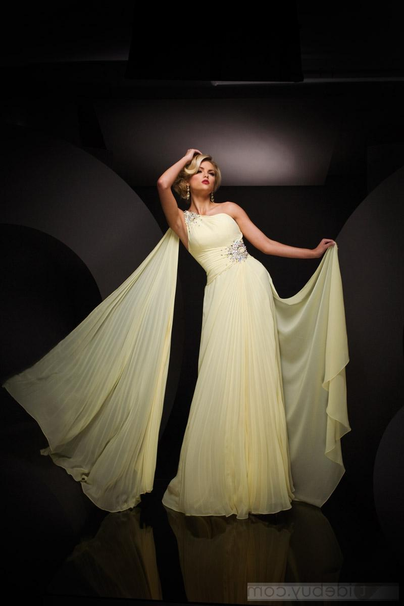 One Shoulder Floor-length