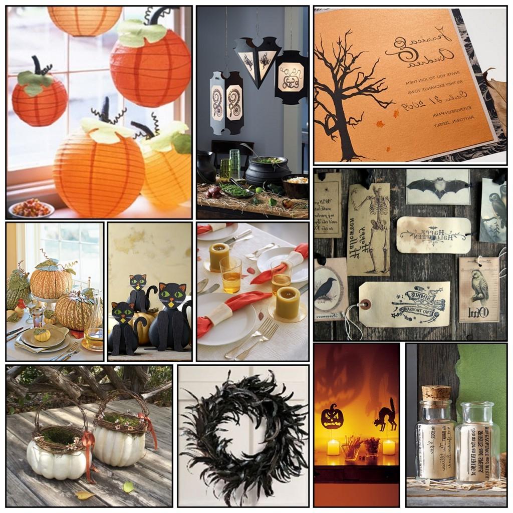 halloween wedding details