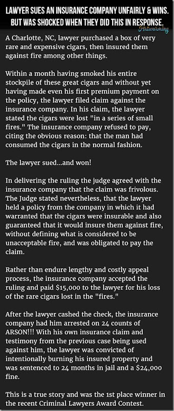 lawyer vs ins co