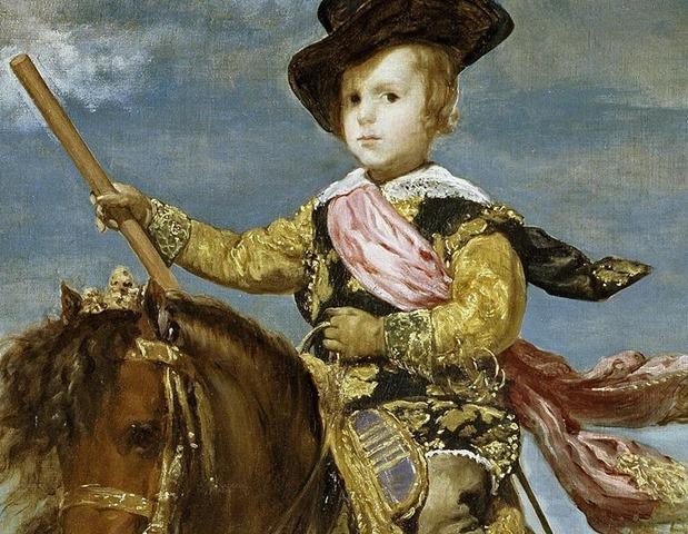 800px-Principe_Baltasar_Carlos_a_caballo_Velazquez_detail