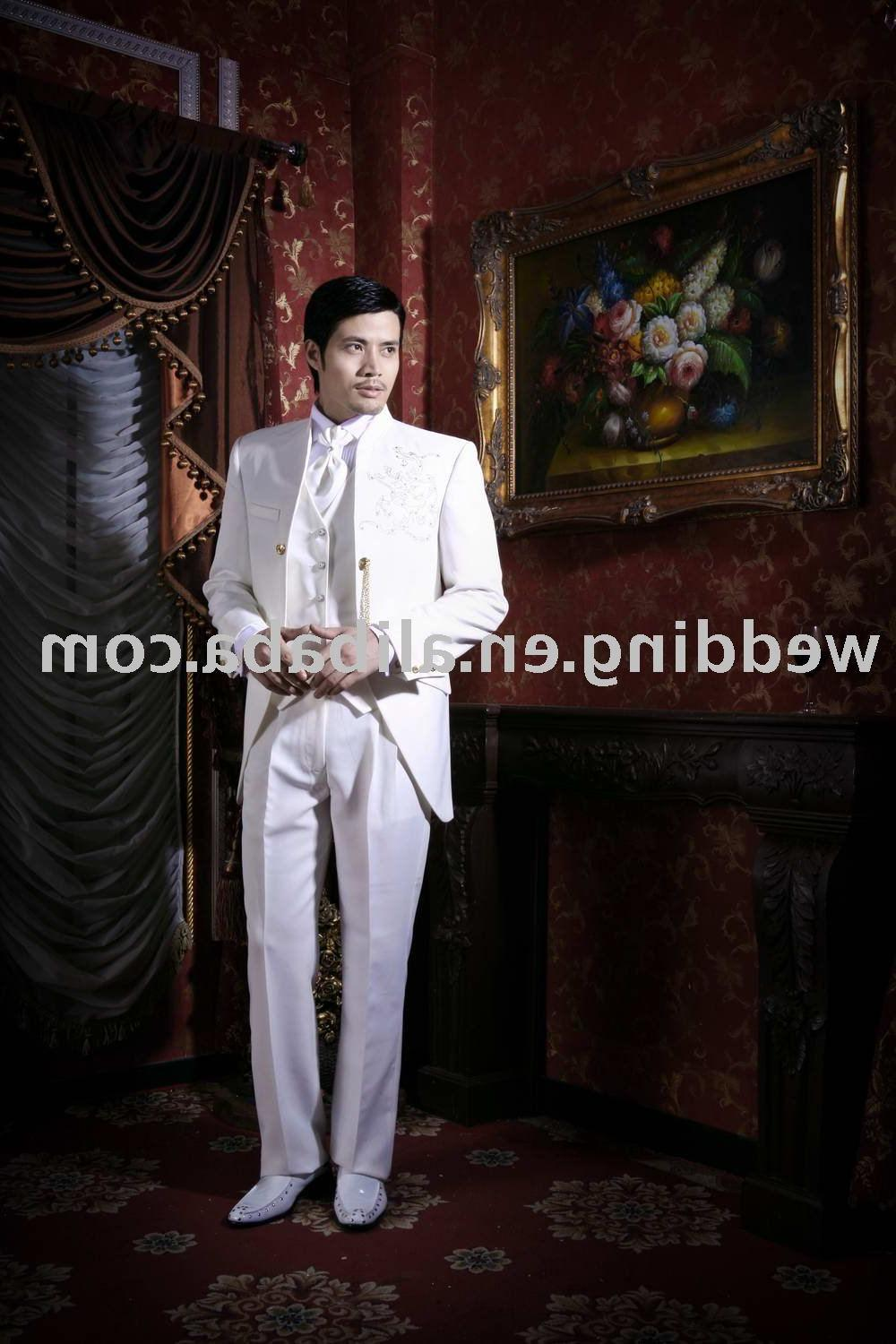 Embroidery Men Suit MS1001