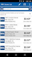 Screenshot of Rotten Robbie Deals App