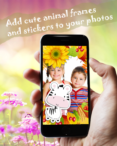 android Butterfly Frames Photo Editor Screenshot 0