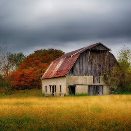 Fall time barn by Brian Hollars - Buildings & Architecture Other Exteriors