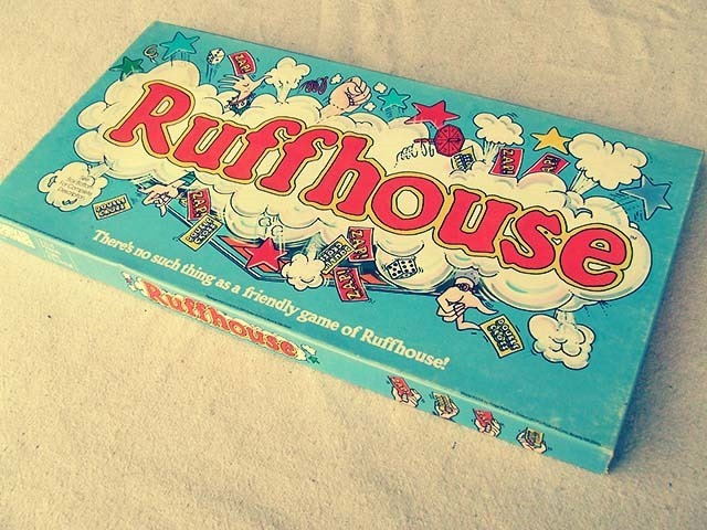 Ruffhouse Board Game Front Side