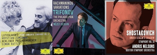 IN REVIEW: Music by Witold Lutosławski (DGG 479 4518), Sergei Rachmaninov (DGG 479 4970), & Dmitri Shostakovich (DGG 479 5059)