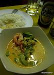 z jej tajskim curry dla turystów,