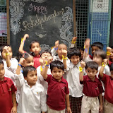 Rakhi Celebrations at Santosh Nagar Girls Branch