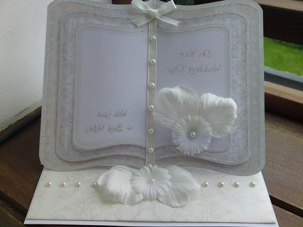 Wedding Book a Easel Card