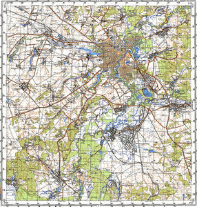 Map 100k--m36-046--(1988)