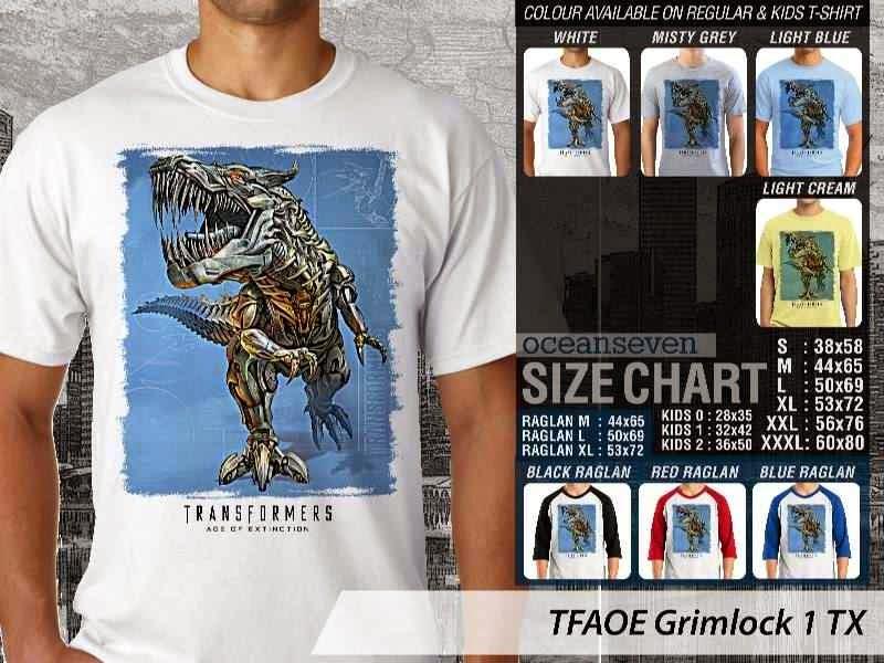 KAOS film Transformers Grimlock 1 Transformers Age of Extinction distro ocean seven