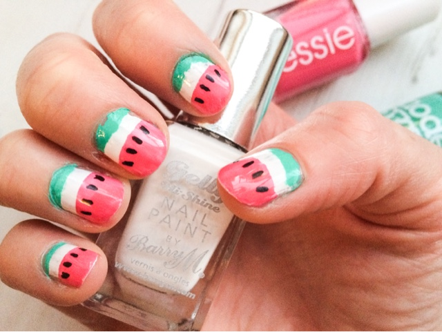 Emsypickle Midweek Manicure Watermelon Nail Art
