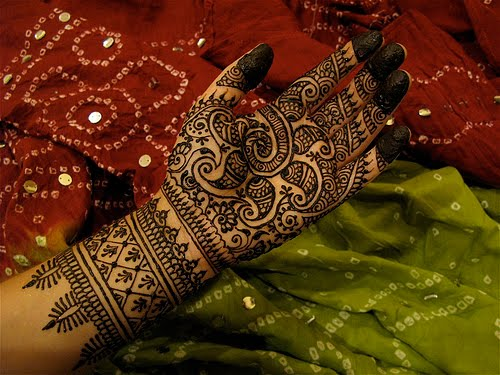 Arabic bridal mehndi, arabic