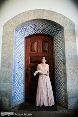 Foto do casamento de Valeria e Leonardo. Solar Real, Rio de Janeiro, RJ.