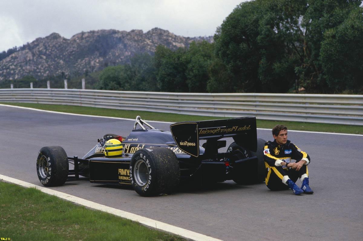 Ayrton Senna  Lotus-Renault