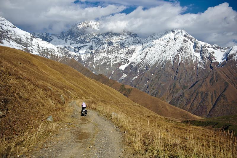 In mijlocul Caucazului.