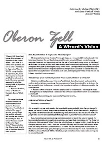 Cover of Michael Night Sky's Book Oberon Zell Interview A Wizard Vision