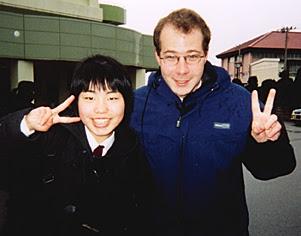 Graduation Day at Dai-Ichi, March 8, 2002.