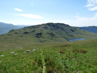 Middle Fell from path to Seatallan