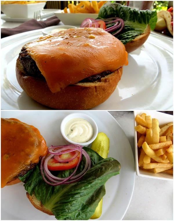Hyatt Palms Aruba Burger