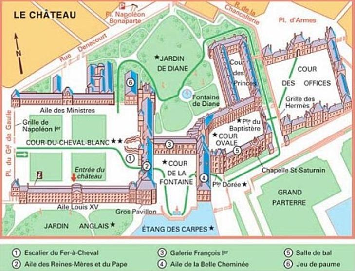 plan château