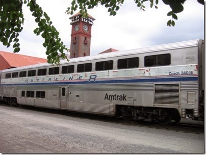 IMG_0753 Amtrak Superliner I Coach #34046 at Union Station in Portland, Oregon on May 10, 2008