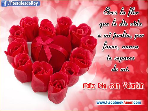 Imagenes De Dia De San Valentin Con Frases - San Valentín el día de los enamorados imágenes Frases