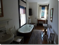 Bathroom in Roosevelt Cottage