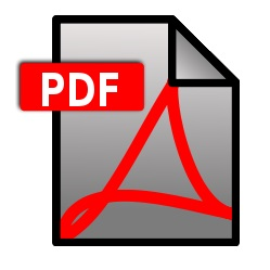 PDF file download icon