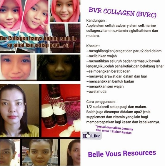 testimoni bvr collagen