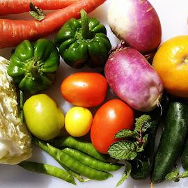 Mix vegetables by Farzana Ahmad - Food & Drink Fruits & Vegetables ( mix vegetables, healthy food, vegetables, food,  )