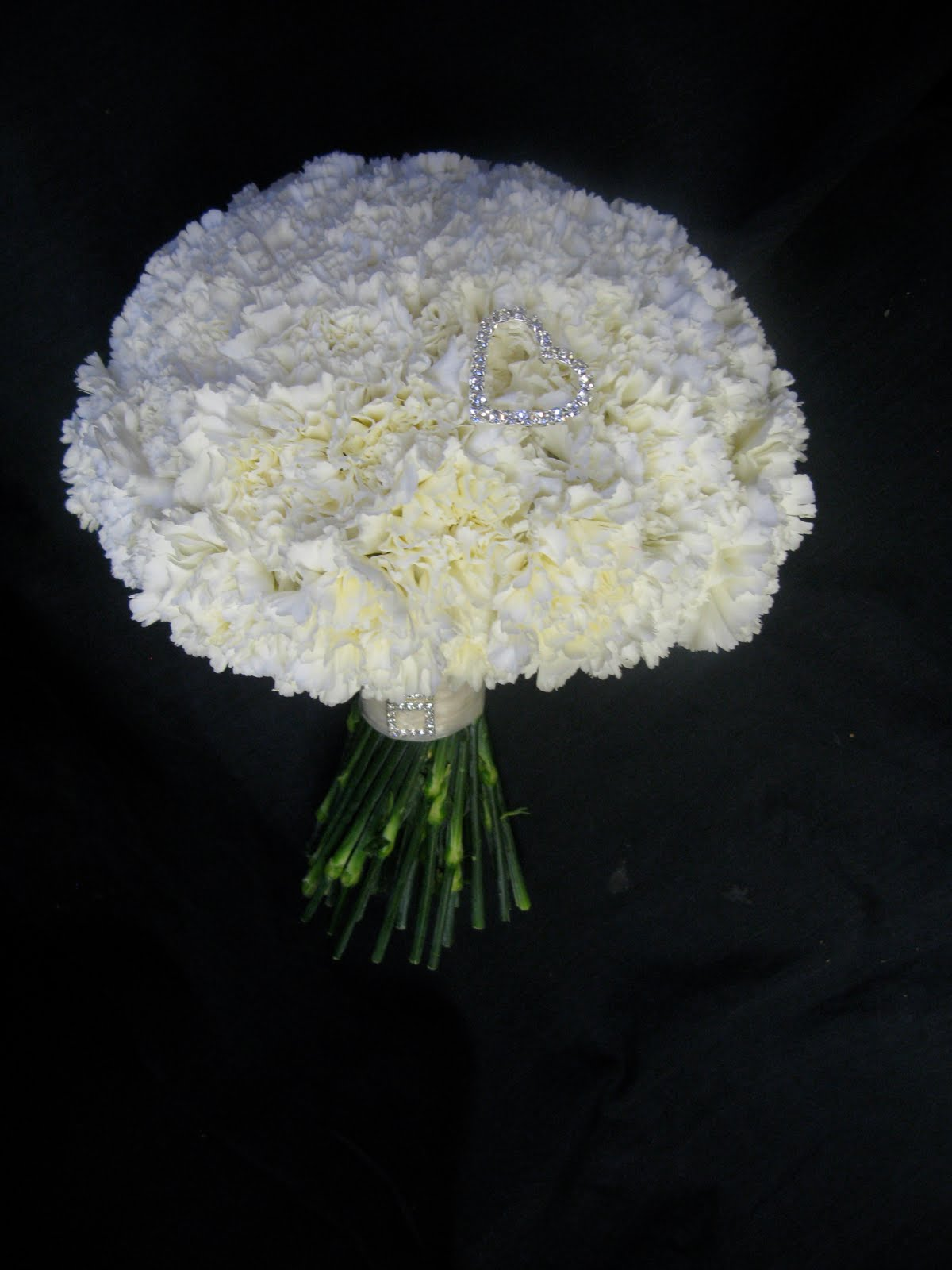 White Carnation Bouquets