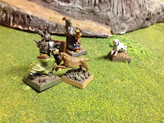Counter-assault by Grave Guard