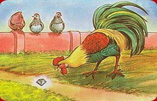 El gallo y la joya fabulas con moraleja