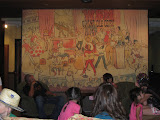 A mural in the family room at the Grand Ole Opry in Nashville TN 09032011