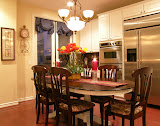 Manning Kitchen - The breakfast nook is a wonderful place for family gatherings.
