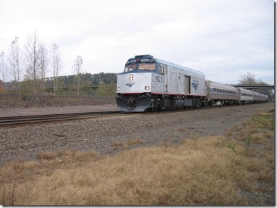 IMG_4543 Amtrak NPCU #90278 in Kelso, Washington on November 27, 2008