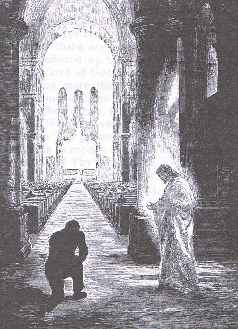 Kneeling in Mass and Adoration