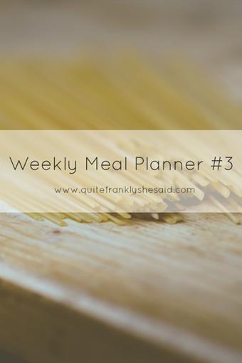 weekly meal planner 3 pinterest