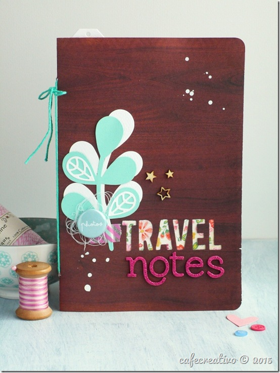 sizzix big shot plus - scrapbooking - mini album - travel journal - by Anna Drai - cafecreativo (1)