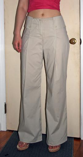 Burda 6/2008 #125: Poplin pants