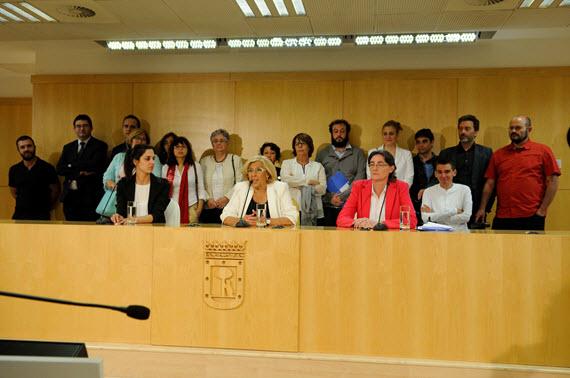 Nuevo áreas de Gobierno y concejales de los distritos del Ayuntamiento de Madrid