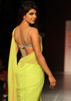 priyanka chopra backless aree