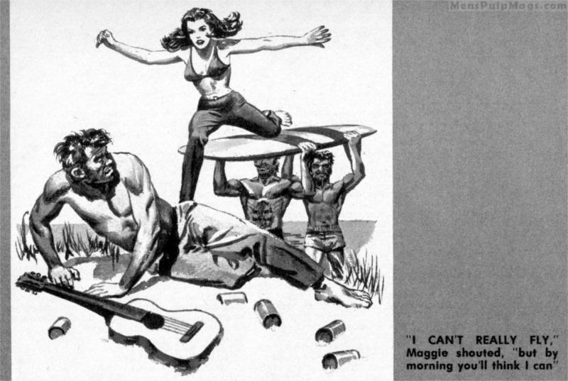 Men's Adventure Magazines: Earl Norem artwork in our HE