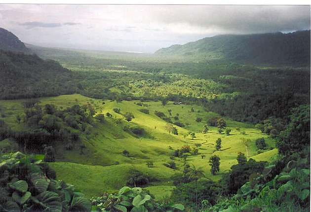 Falefa Valley, Samoa