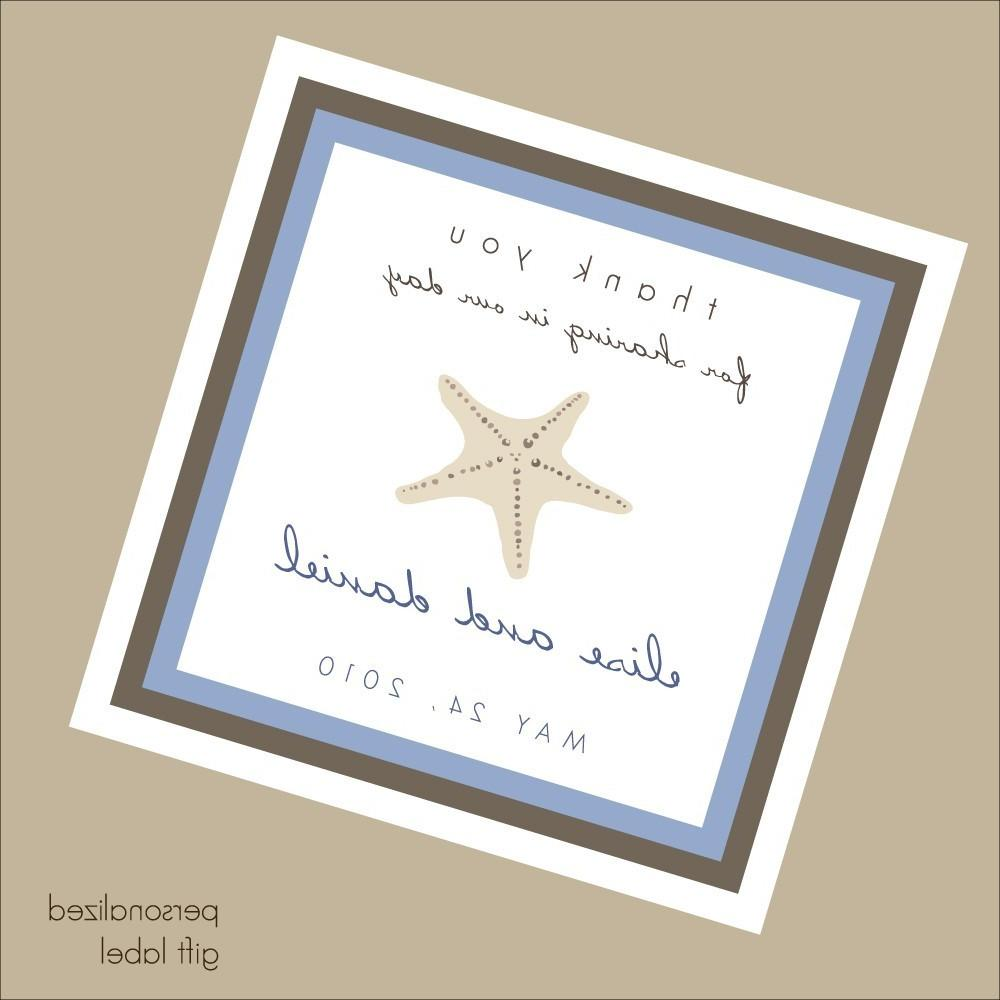 wedding guests gift tag