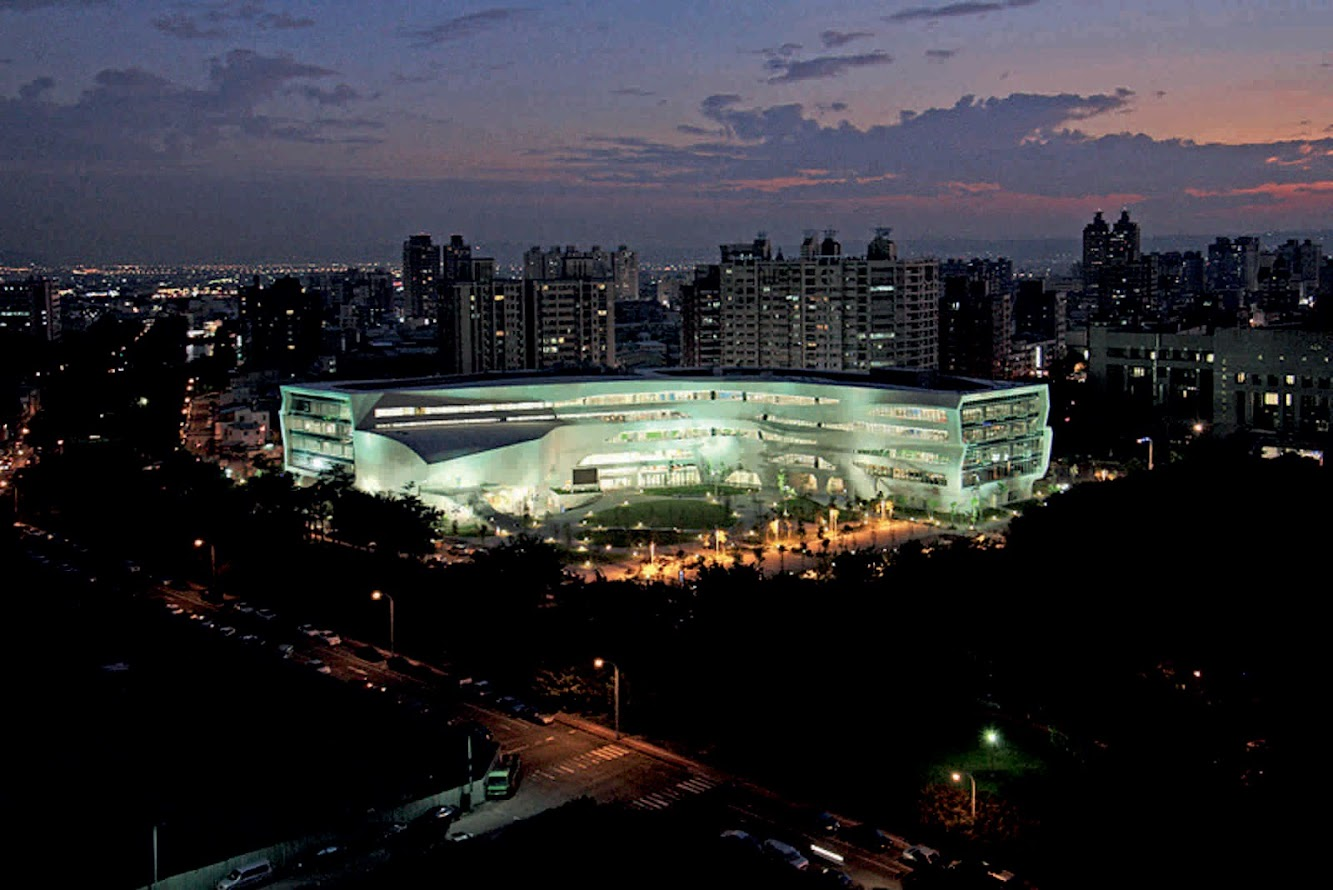 Xuěshān Rd, Heping District, Taichung, Taiwan 424: National Library of Public Information by Jj Pan