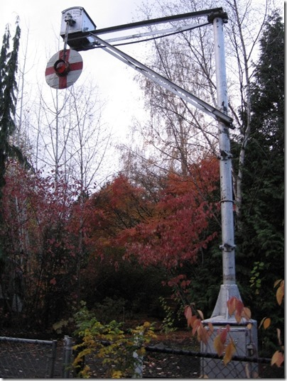 IMG_0575 Wig-Wag Signal on the Washington Park & Zoo Railway at the Oregon Zoo in Portland, Oregon on November 10, 2009