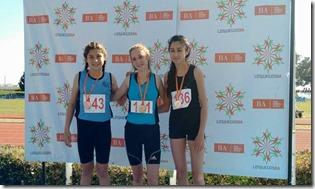 Con las conquistas de Fiorella Scalice y Lourdes Uranga La Costa suma tres medallas de oro