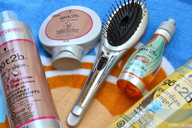 Conair Infiniti Pro The Ultimate Brush got2b Hair Review (8)